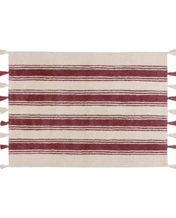stripes-marsala