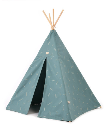 Phoenix-teepee-tipi-gold-secrets-magic-green-nobodinoz-1