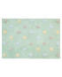 Χαλί Δωματίου Lorena Canals Tricolor Stars Light Mint