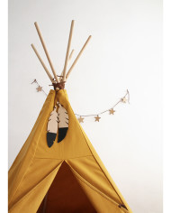 teepee-nevada-farniente-yellow-detail-star-garland-nobodinoz