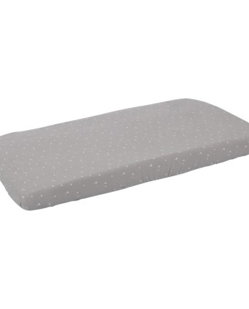 1457-Single-fitted-sheet-little-stars-grey