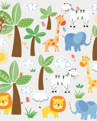 RMK2635SCS_Jungle-Friends-Wall-Decals_Scattered-580×580