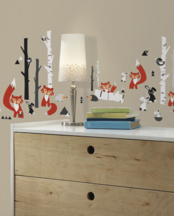 RMK2721SCS_Fox_Forest_Peel_and_Stick_Wall_Decals_RS-580x580