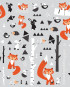 RMK2721SCS_Fox_Forest_Peel_and_Stick_Wall_Decals_Scattered-580x580