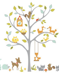 RMK2729SLM_Woodland_Fox__Friends_Tree_Peel_and_Stick_Wall_Decals_Assembled_Product-580×580