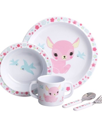 melamine-set-deer