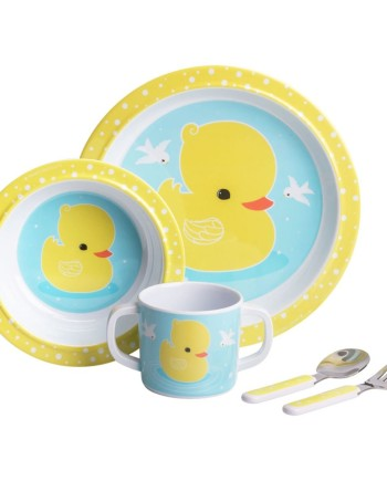melamine-set-duck