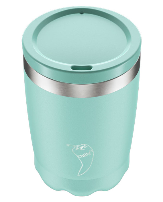 Coffee Cup Chillys Pastel Green 340ml