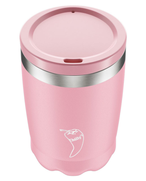Coffee Cup Chillys Pastel Pink 340ml
