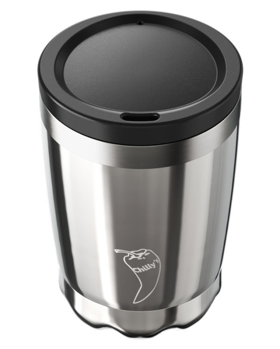 Coffee Cup Chillys Stainless Steel 340ml