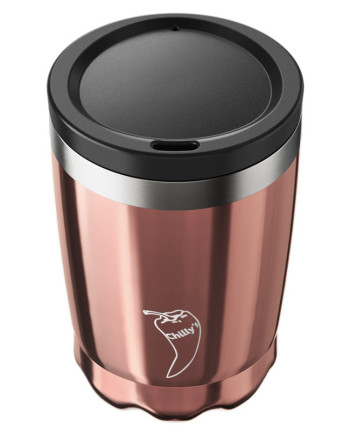 coffe cup rose gold