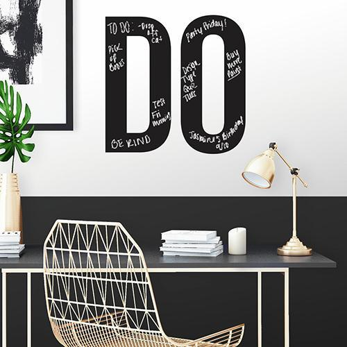 RMK3720SCS Do Motivational Chalk Wall Decals Roomset