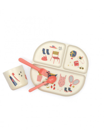 kids-illustrated-dinner-set