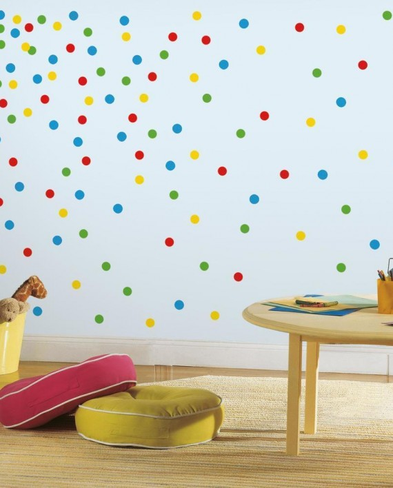 RMK2714SCS_Primary_Confetti_Dots_Wall_Decals_Roomset_1800x1800