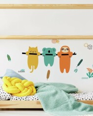 RMK4117GM Koala and Sloth Giant Wall Decals Roomset