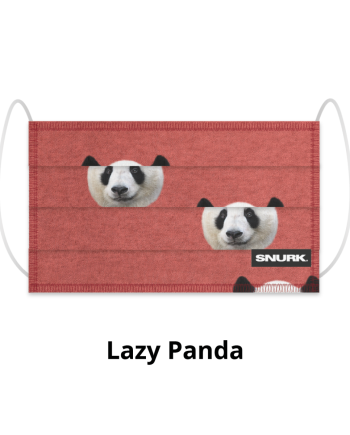 mask snurk lazy panda